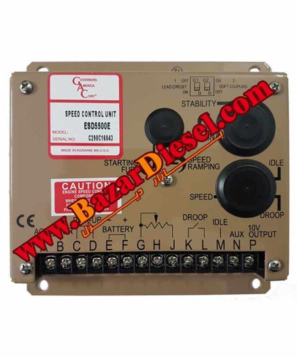 گاورنر جی ای سی GAC ESD5550