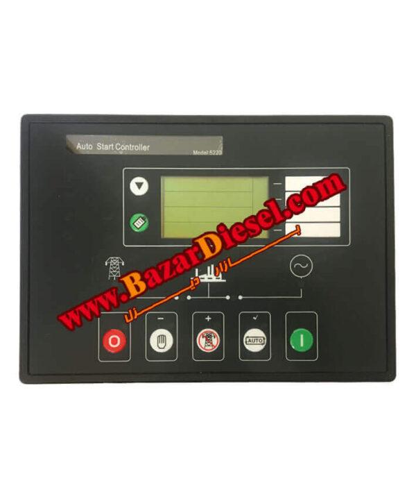 نحوه تست برد کنترلی دیپسی DSE5220