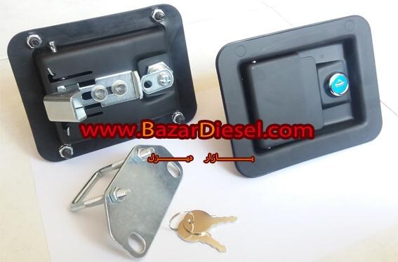 قفل کانوپی دیزل ژنراتور همراه با متععلقات آن